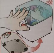 medicijndoos klein anti slip