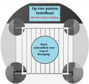 Basis schroefhek 4 afzonderlijke hoeken