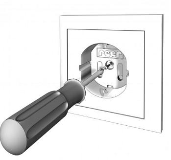 Schroebare stopcontact beveiliger 4