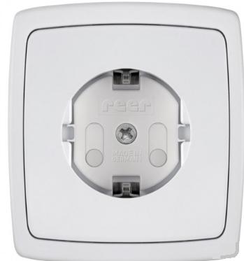 Schroebare stopcontact beveiliger