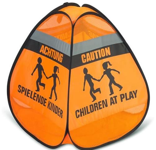 Verkeerswaarschuwing 3D