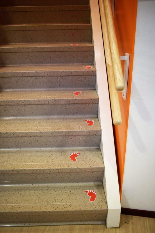 Anti-slip-Steps- voor trappen